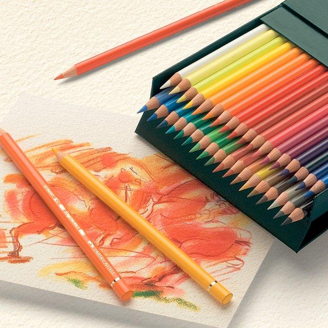 Coffret de 36 crayons de couleur Polychromos