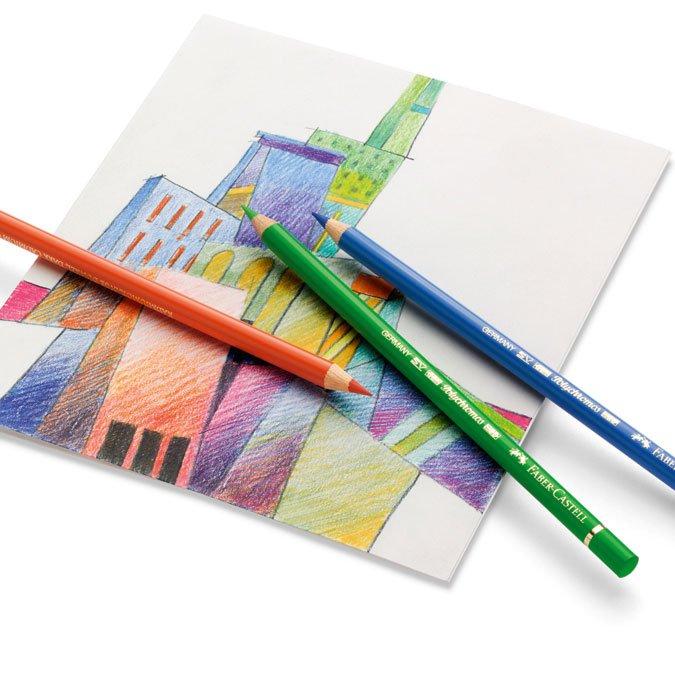 Boîte en métal de 60 crayons de couleur Polychromos