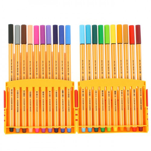 Feutres Stabilo Pen 88 - Colorparade - 20 pcs