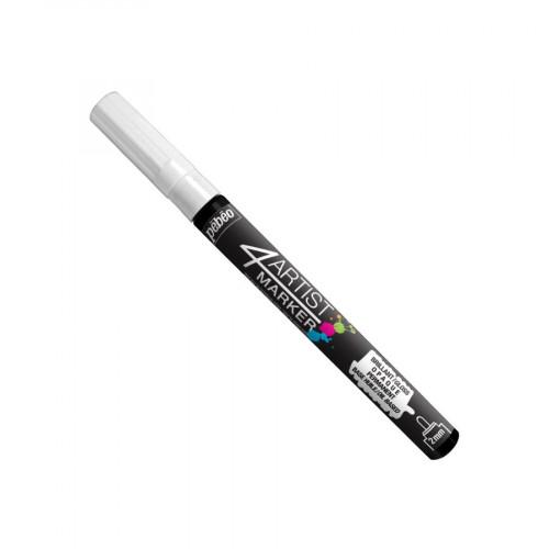 4Artist Marker - 2 mm -  blanc