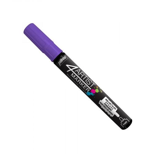 4Artist Marker - 4 mm -  violet