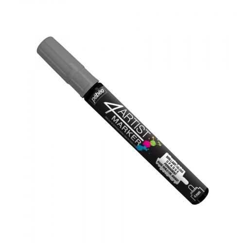 4Artist Marker - 4 mm -  argent