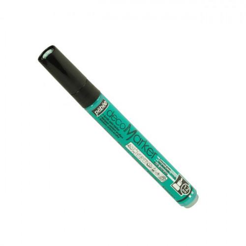 DecoMarker - Feutre peinture pointe ronde 1,2 mm - Vert émeraude