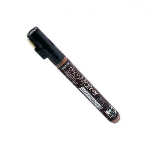 DecoMarker - Feutre peinture pointe ronde 1,2 mm - Sienne brulée