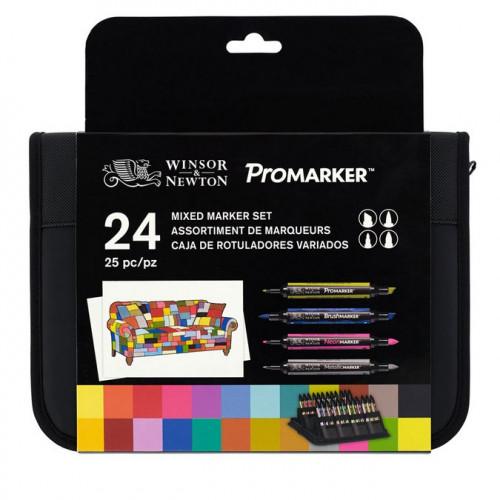 Trousse de 24 Marqueurs assortis Mixed Marker Set