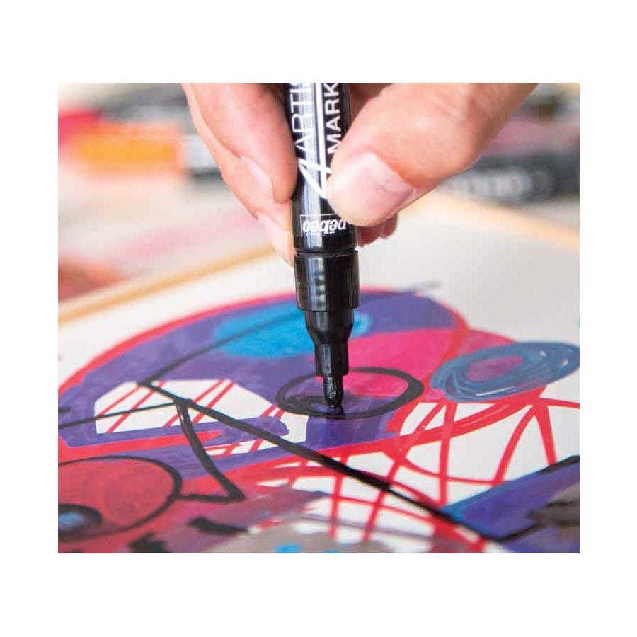 4Artist Marker - 2 mm -  noir