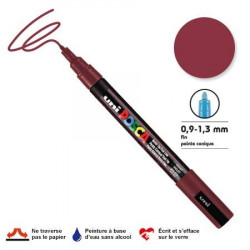 Marqueur pointe conique trait fin - 1,5 mm