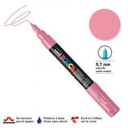 Marqueur Posca pointe conique - Trait extra fin 0.7-1 mm - Rose clair