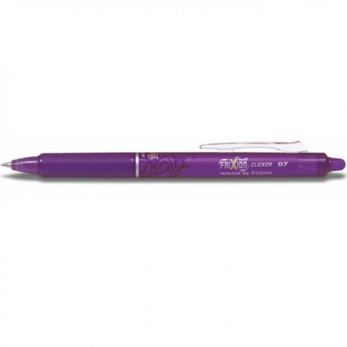 FriXion Ball Clicker - Roller encre gel - violet
