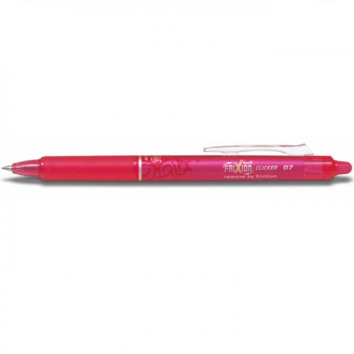 FriXion Ball Clicker - Roller encre gel - rose
