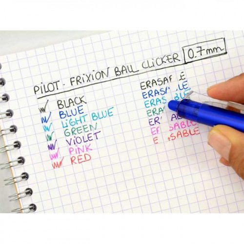 FriXion Ball Clicker - Roller encre gel - rouge