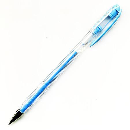 Roller Encre Gel Signo 0.7 mm - Bleu pastel