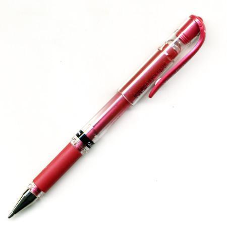 Roller Encre Gel Signo Broad 1 mm - Rouge métallique