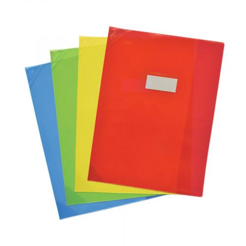 Protège-cahier - A4 - PVC transparent
