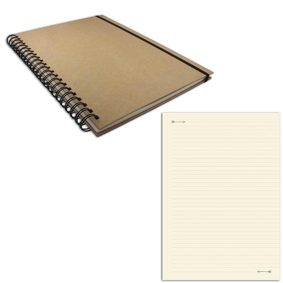 Cahier - 21 x 29,7 cm - 100 pages lignées