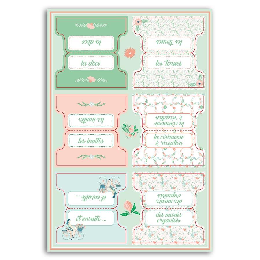 Kit Mon organiseur de mariage