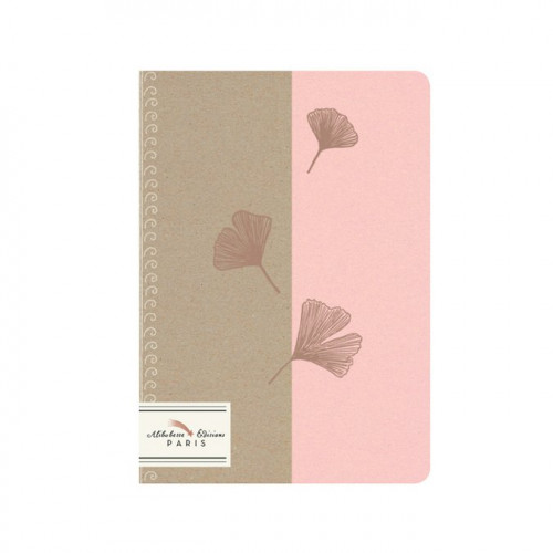 Mini cahier Ginkgo - 12 x 17 cm