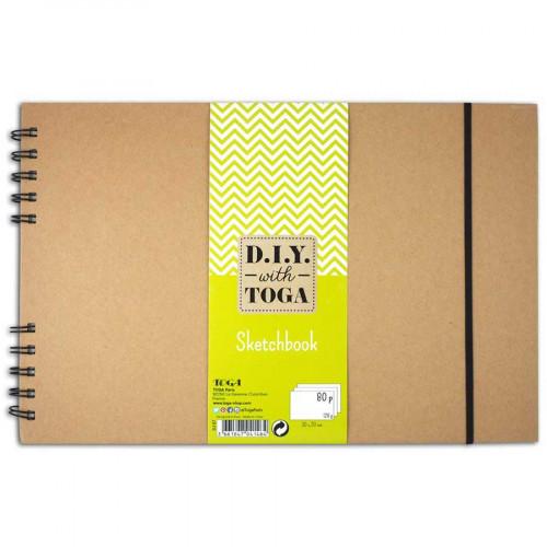 Sketchbook - 30 x 20 cm - 80 pages