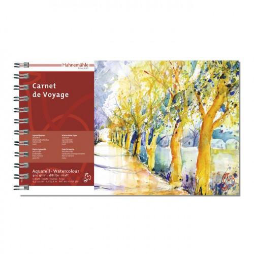 Carnet de voyage aquarelle - 400 g/m² - 15,3 x 25 cm