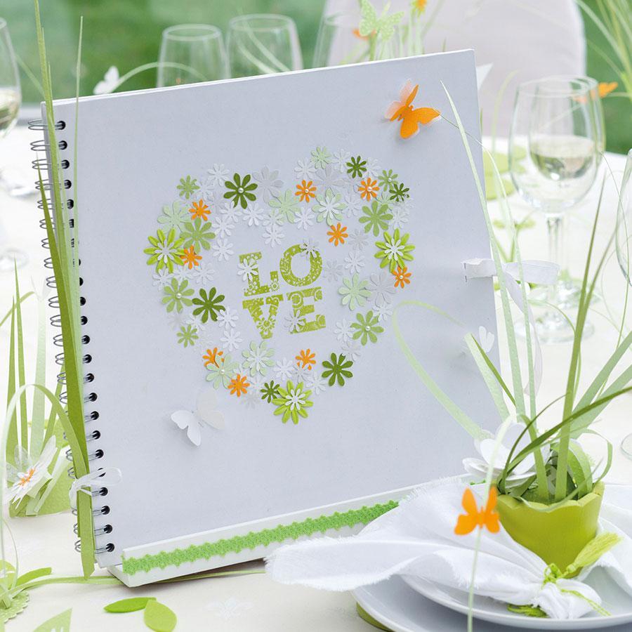 Album brut à décorer - blanc - 30 x 30 cm