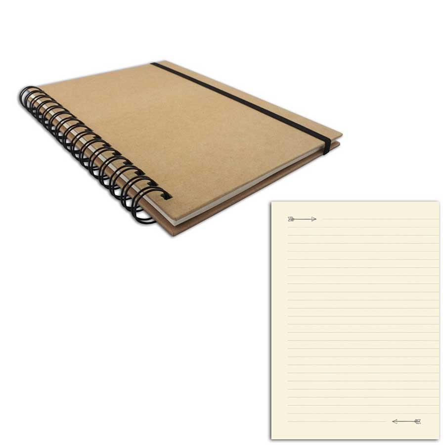 Carnet - 15 x 21 cm - 80 pages lignées