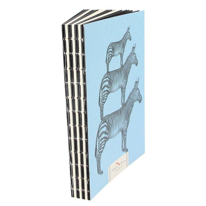 Carnet Artbook Zebra - 14 x 21 cm
