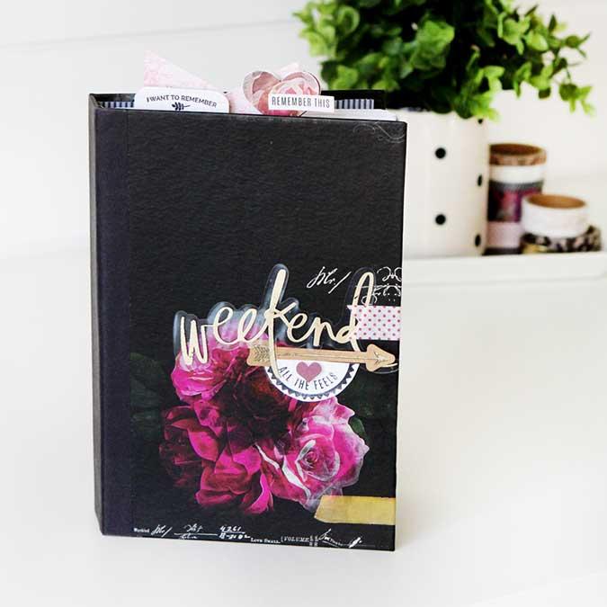 Journal Photo Hawthorne - 13,5 x 20,5 x 2,7 cm