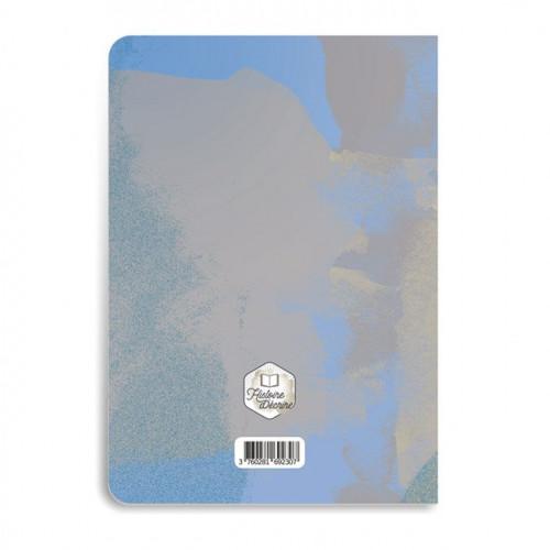 Carnet de notes mauve - 64 pages lignées - A5