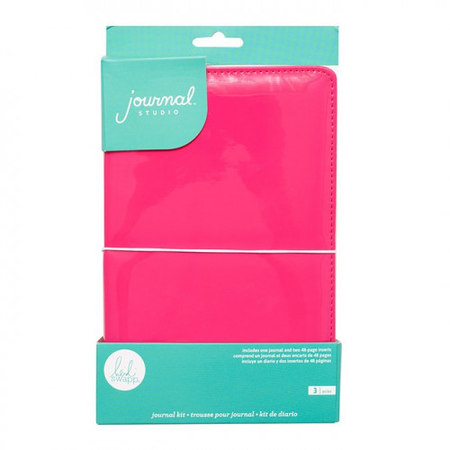 Kit Journal Studio rose fuchsia - 14,5 x 22 cm