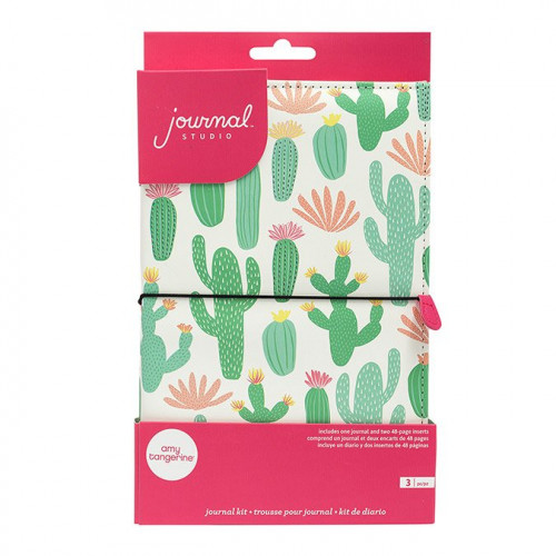 Kit Journal Studio Cactus - 14,5 x 22 cm