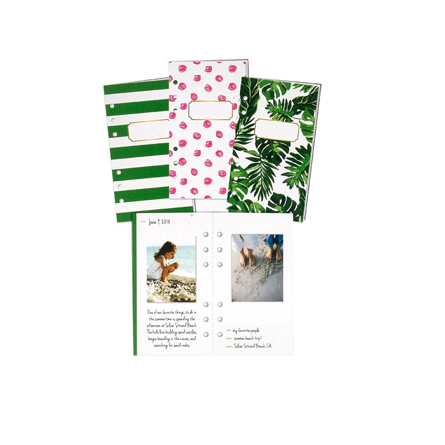 Journal Storybook Tropical - 3 pcs