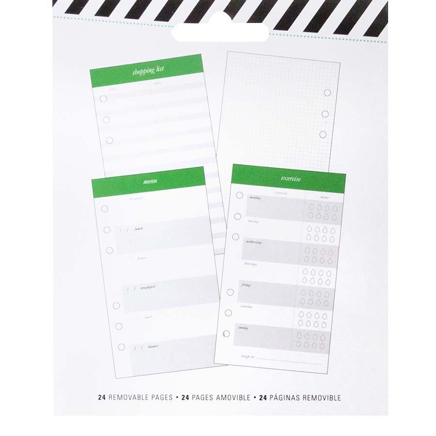 Bloc de 24 pages Exercise - 10 x 18 cm