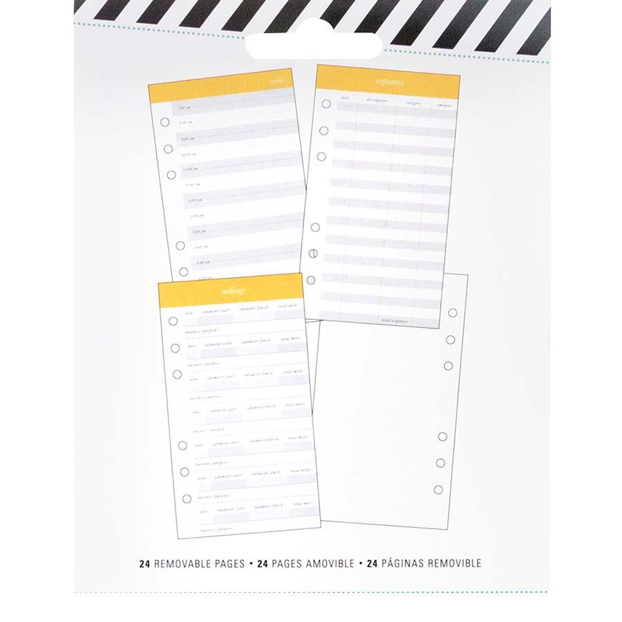 Bloc de 24 pages Budget - 10 x 18 cm