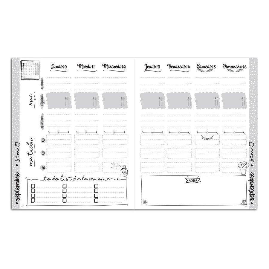Agenda familial 2018/19 - 20 x 24,5 cm