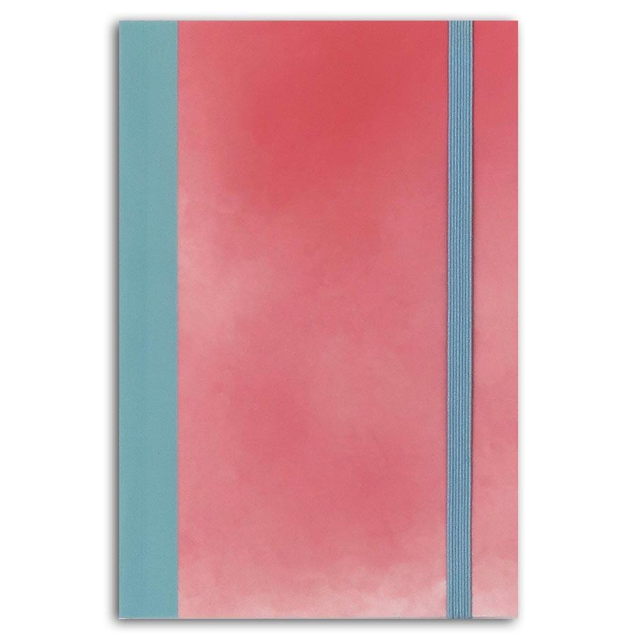 Carnet bicolore Hygge - 10 x 15 cm
