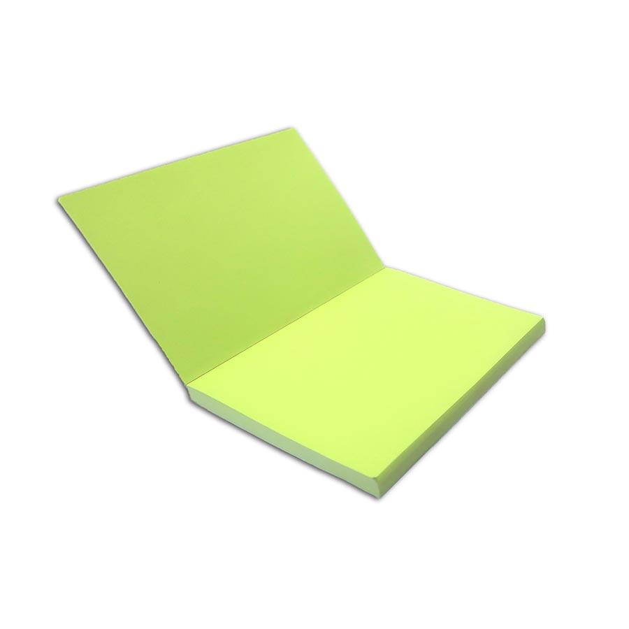 Carnet bicolore Paons - 10 x 15 cm