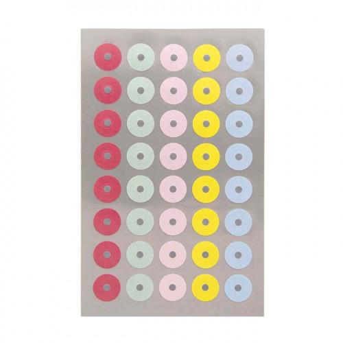 Œillets de renforcement - Pastels