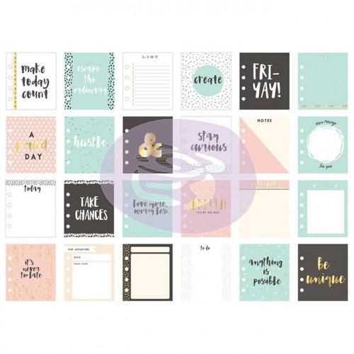 Cartes pour Planner - Stay Curious - 24 pcs