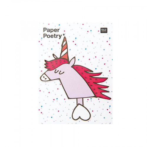 Magical Summer - Notes adhésives - Licorne - 50 pcs