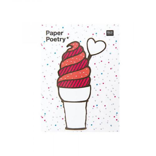 Magical Summer - Notes adhésives - Crème glacée - 50 pcs