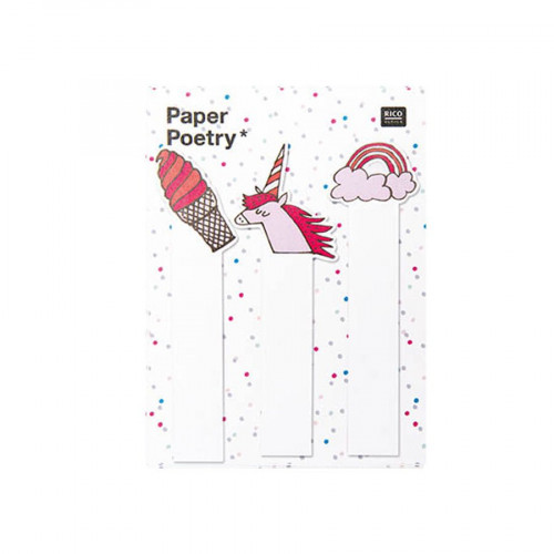 Magical Summer - Marque pages adhésifs - Mixte - 90 pcs
