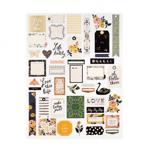 Journal Studio Découpes en papier - 45 pcs