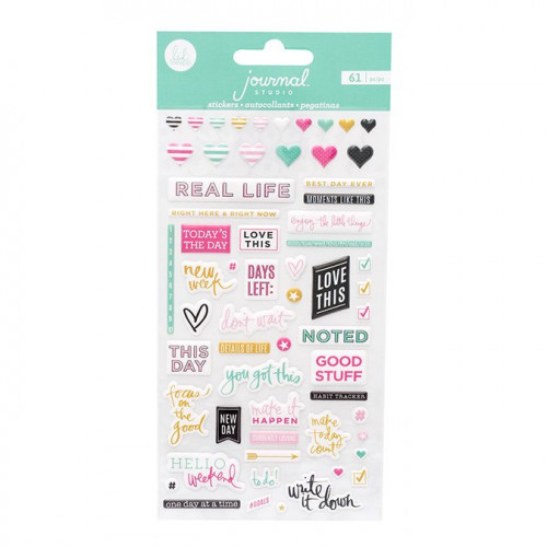 Journal Studio Puffy Stickers - 61 pcs
