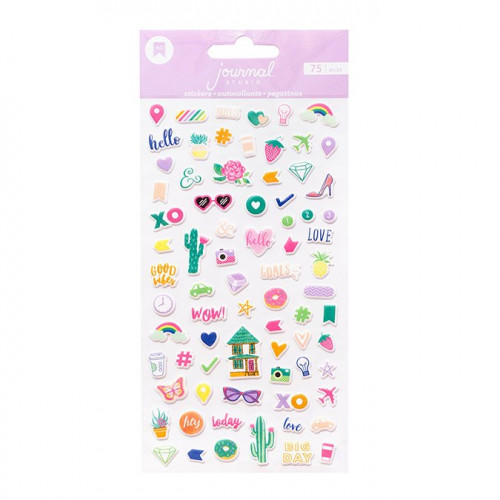 Journal Studio Puffy Stickers - 75 pcs