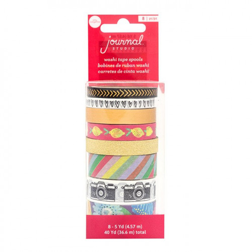 Journal Studio Washi Tape - 8 rouleaux