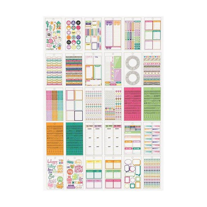 Livret de stickers Journal Studio - 1547 pcs