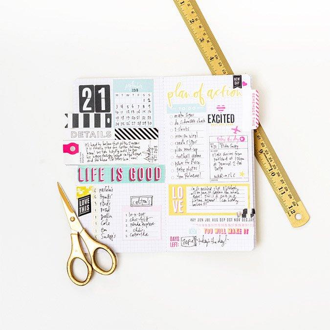 Journal Studio Découpes en papier - 50 pcs