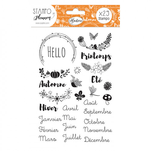 Stampo Planner Saisons - 29 tampons