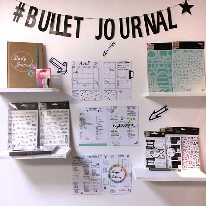 Bujo - 55 tampons transparents Icônes