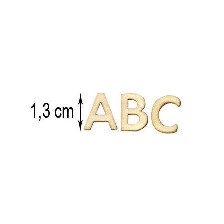 Alphabet en bois - 162 pces
